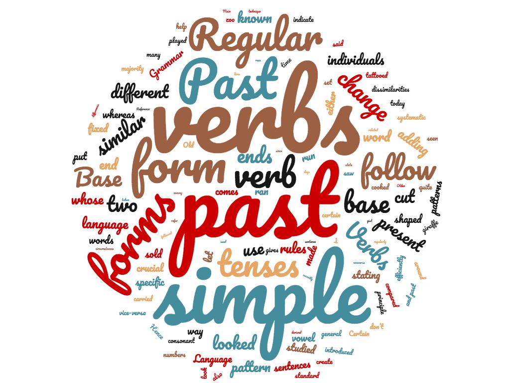 Diferencia entre verbos regulares e irregulares