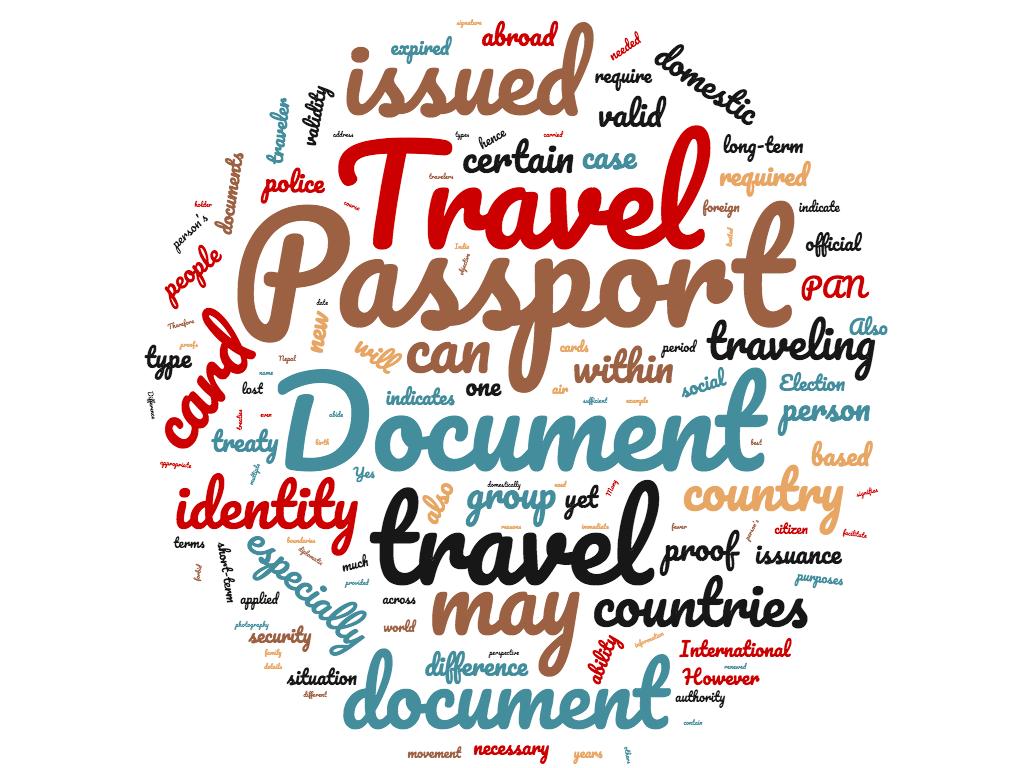 Diferencia entre pasaporte y documento de viaje