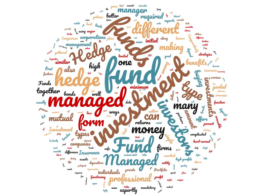 Diferencia entre fondo de cobertura y fondo administrado
