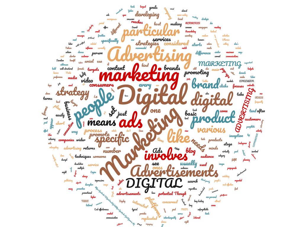 Diferencia entre marketing digital y publicidad digital