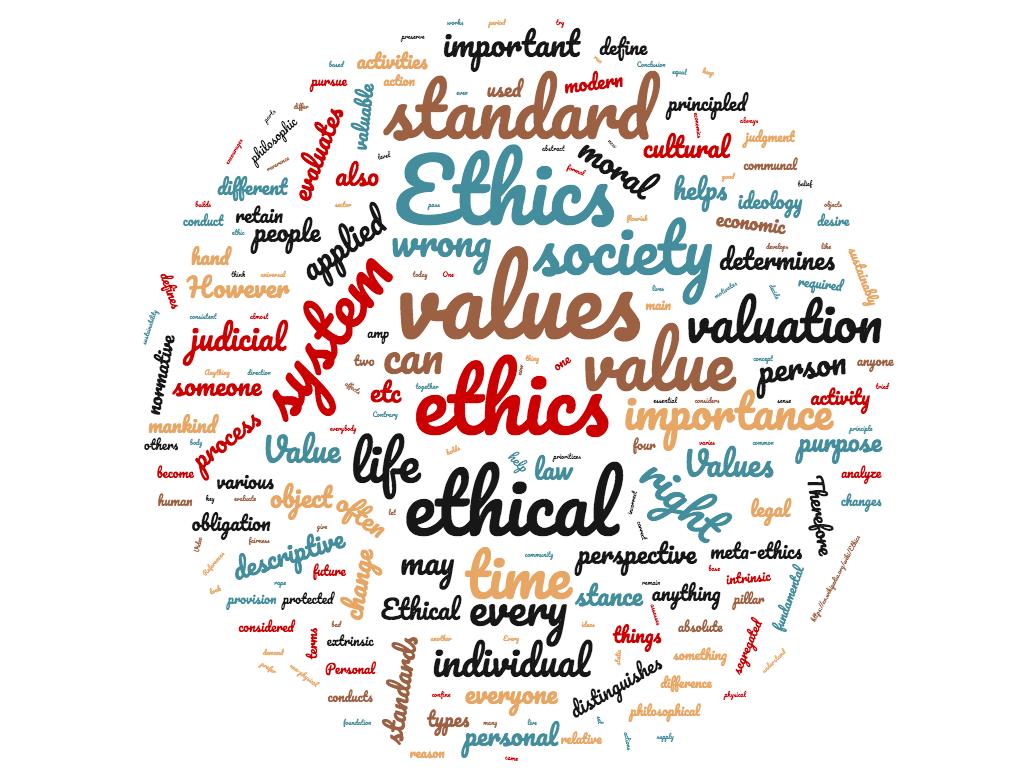 Diferencia entre ética y valores