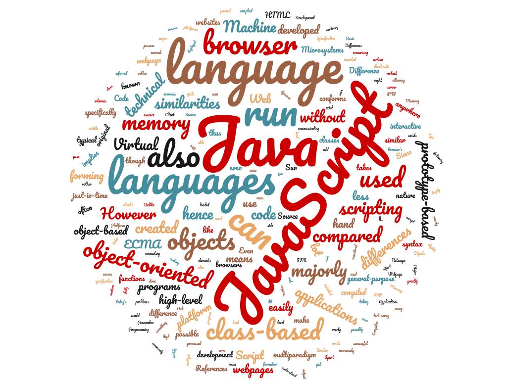Diferencia entre Java y JavaScript