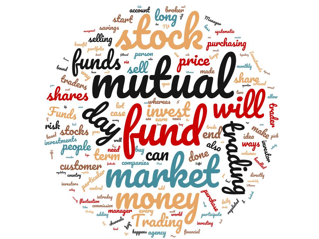Diferencia entre negociación y fondo mutuo