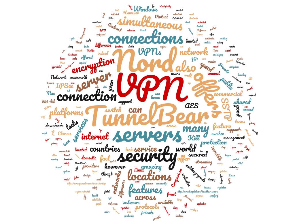 Diferencia entre NordVPN y TunnelBear VPN