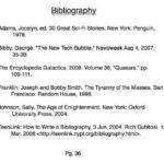 Diferencia entre bibliografía y conclusión (con tabla)