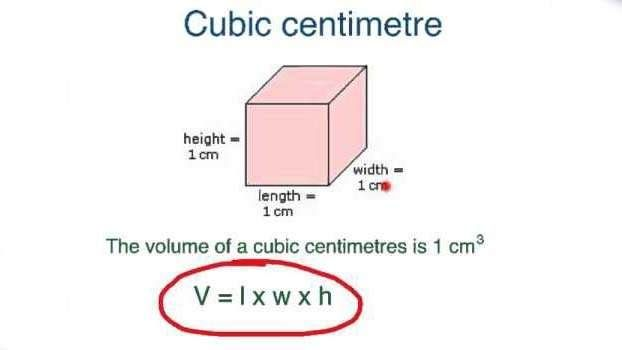 Centímetro cúbico