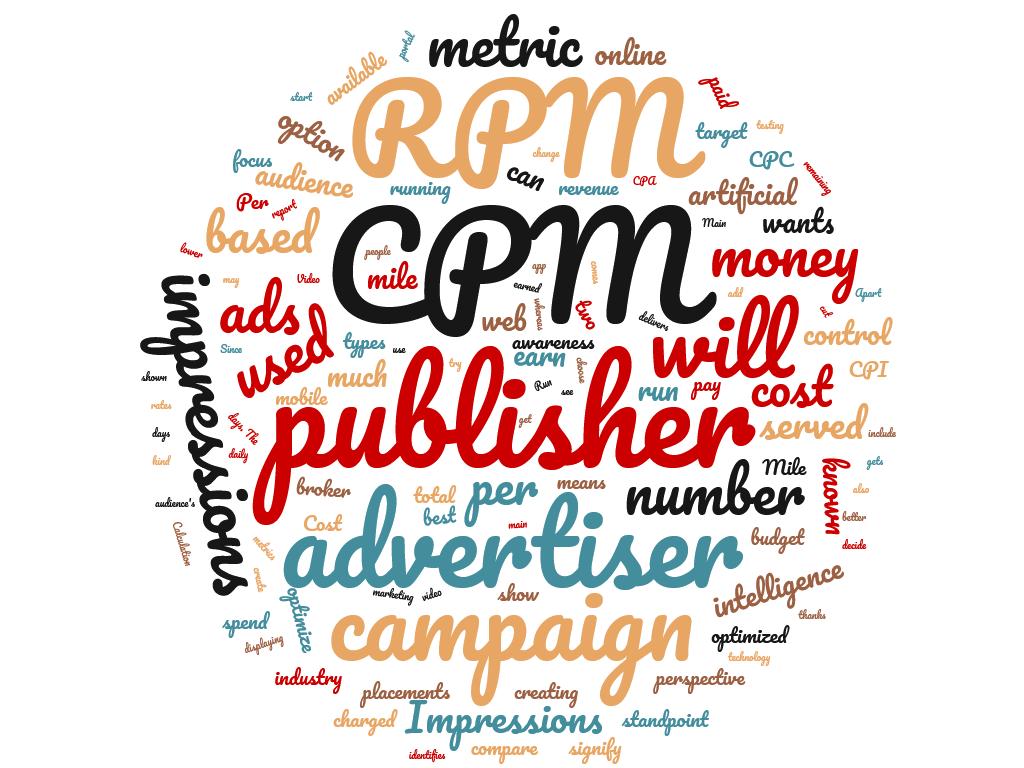 Diferencia entre CPM y RPM