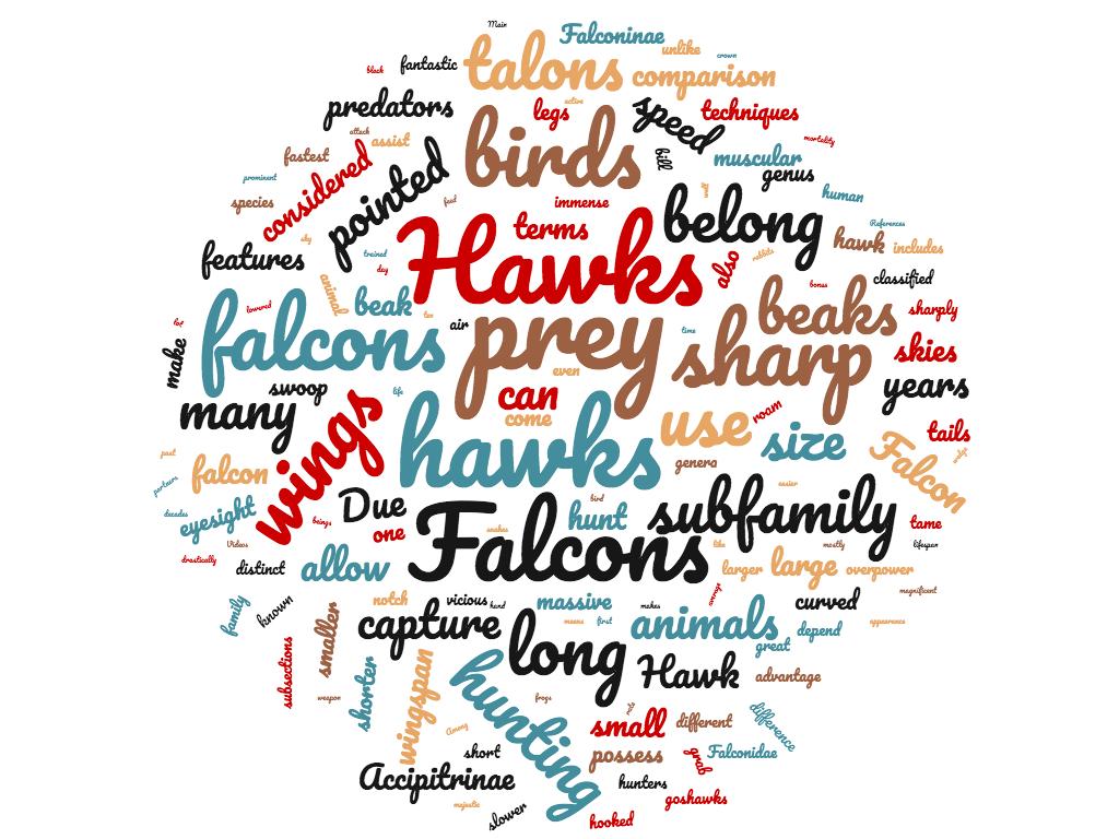 Diferencia entre Hawk y Falcon