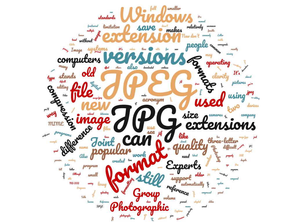 JPG y JPEG