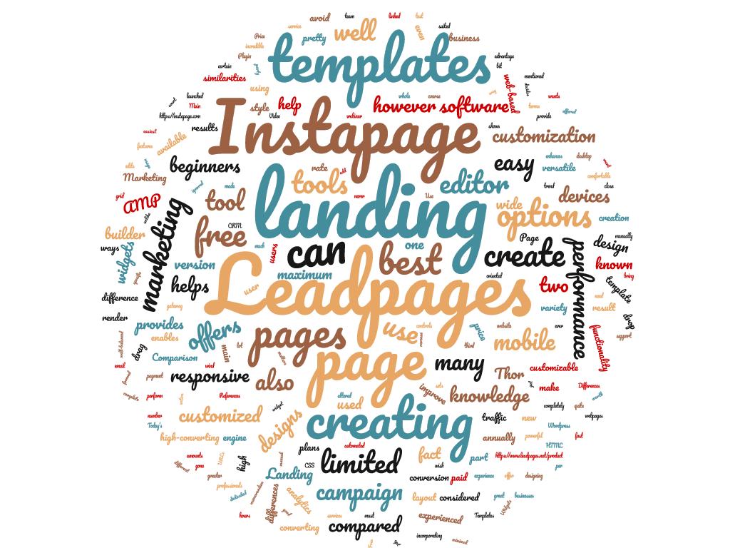 Diferencia entre Leadpages e Instapage