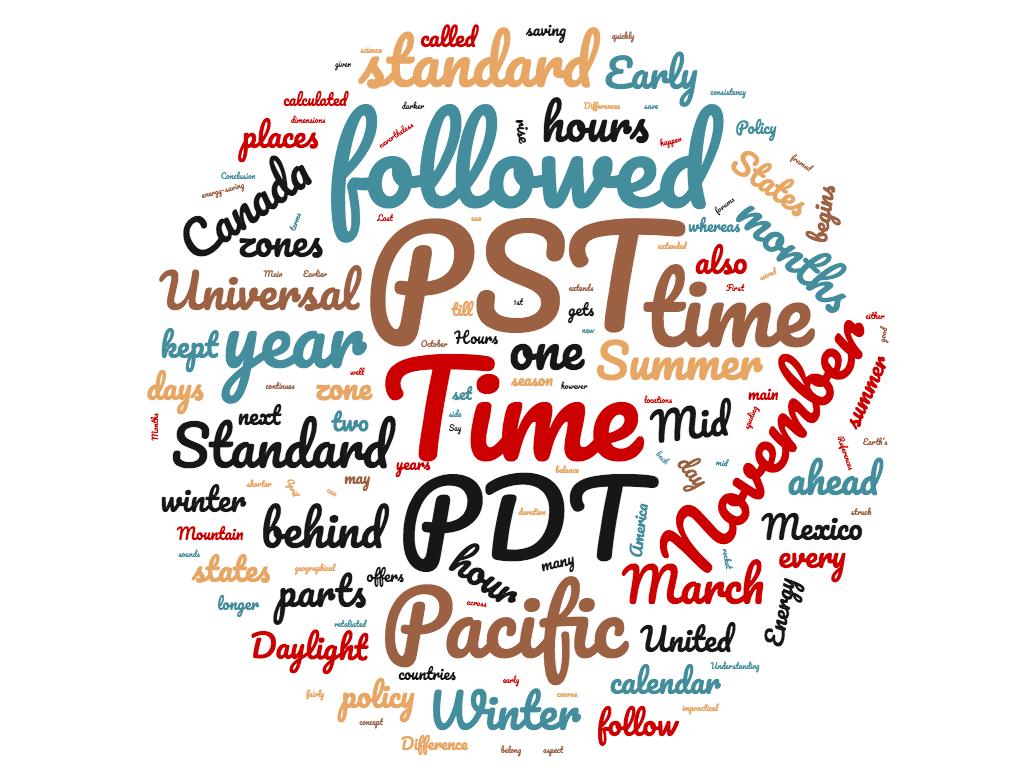 Diferencia entre PST y PDT