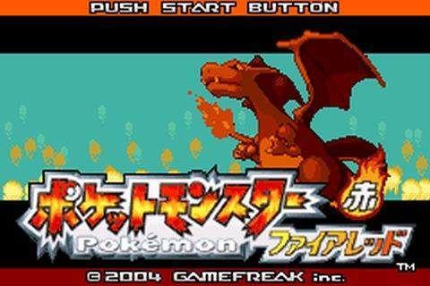 Pokemon Rojo Fuego