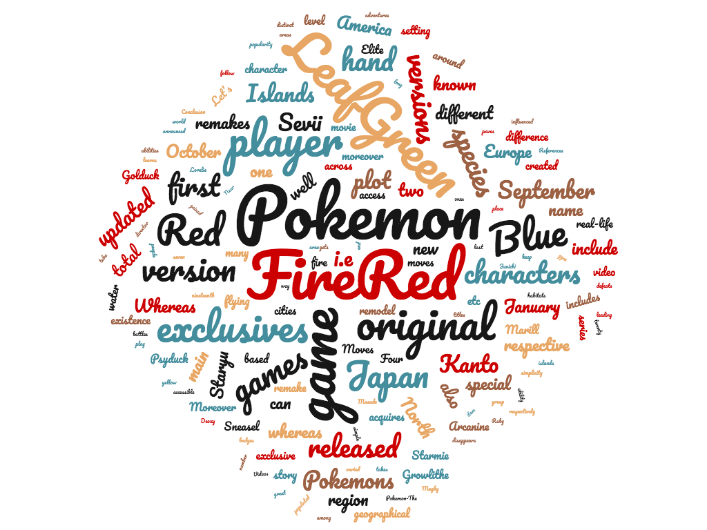 Diferencia entre pokemon rojo fuego y verde hoja