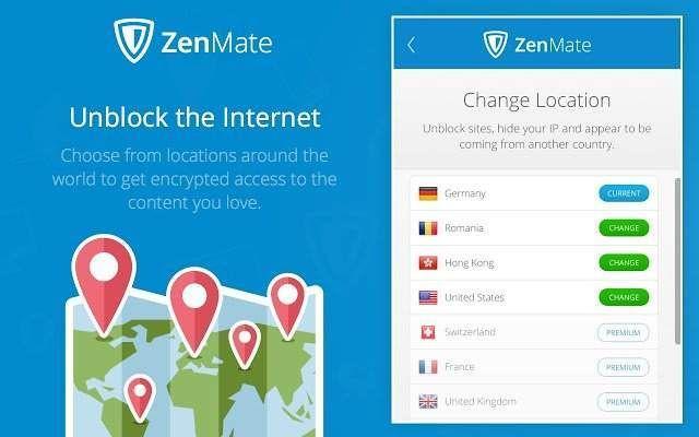 VPN de Zenmate