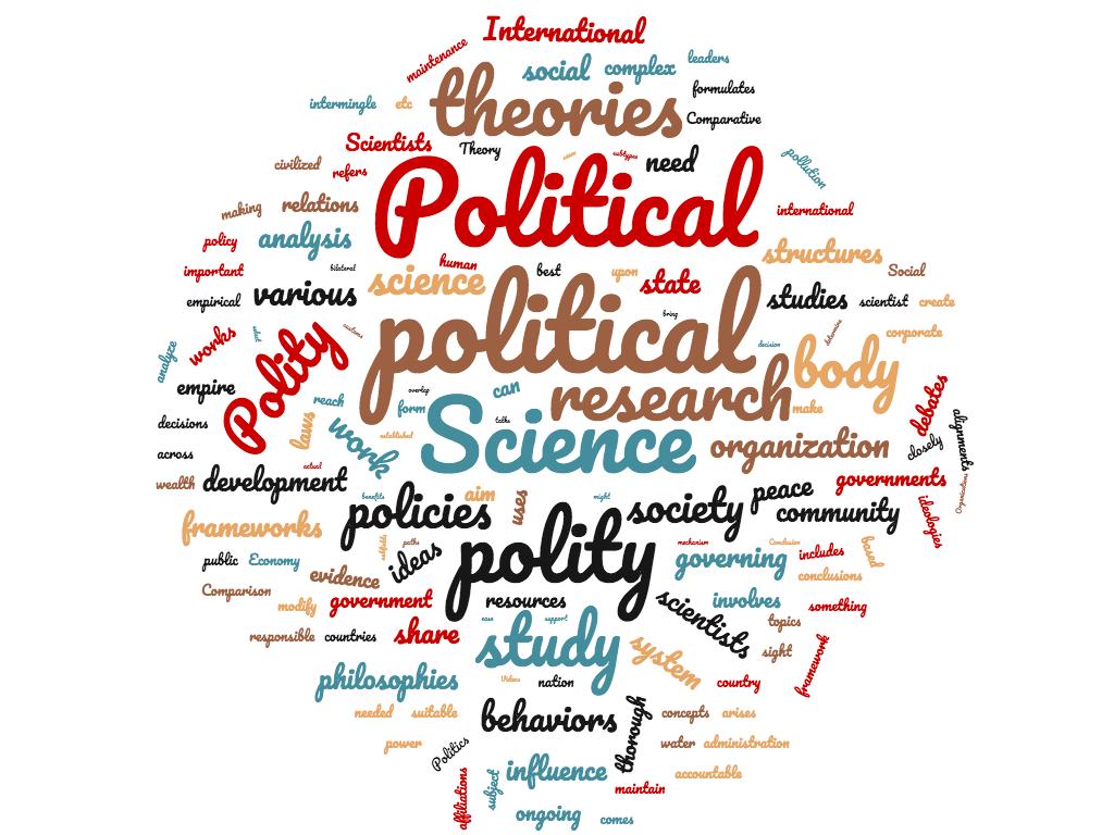 Diferencia entre ciencia política y política