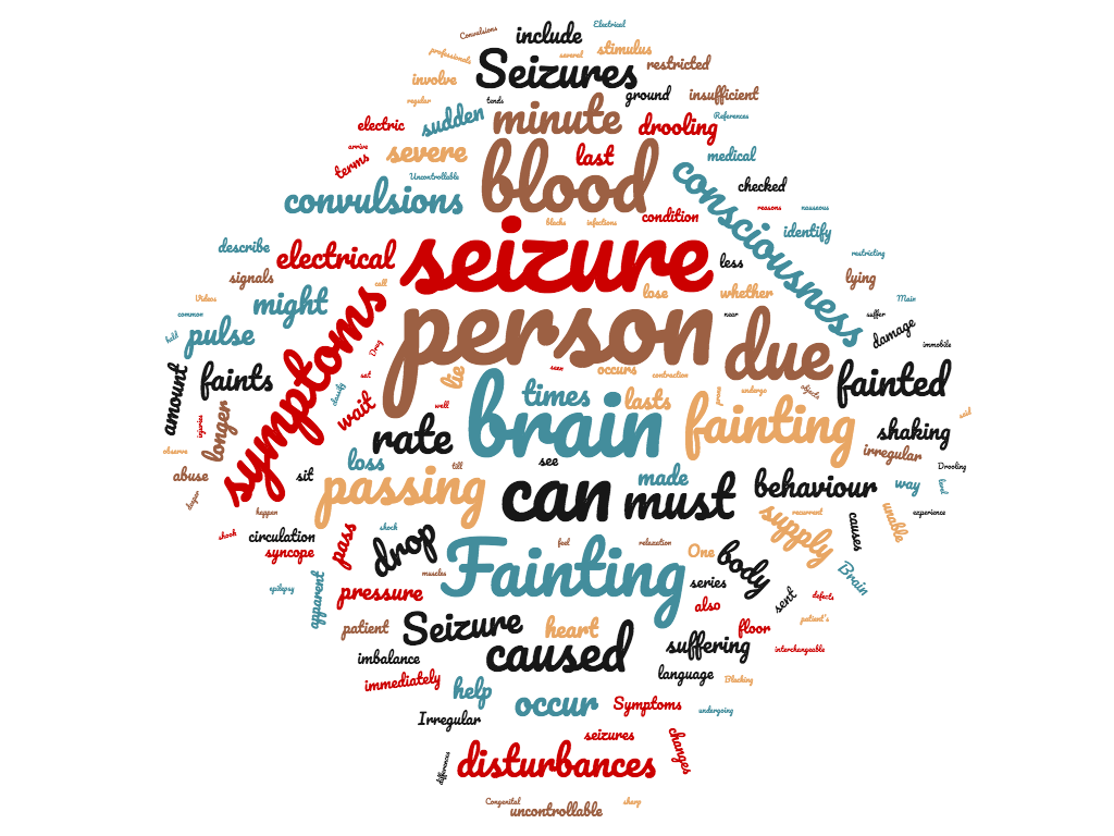 Diferencia entre desmayos y convulsiones