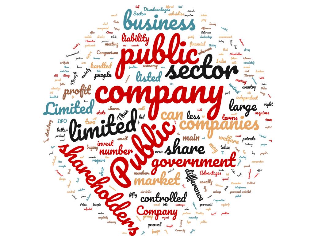 Diferencia entre sector público y público limitado