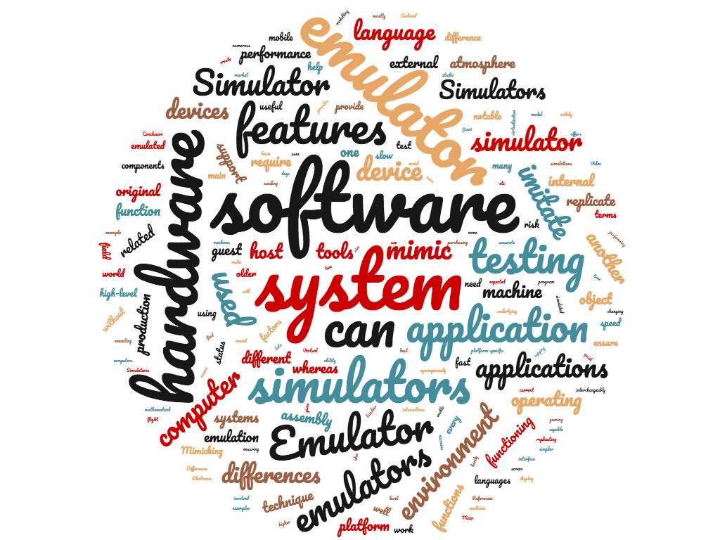 Diferencia entre emulador y simulador