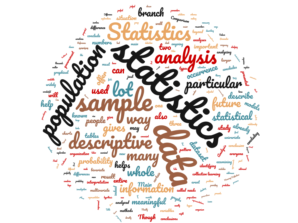 Diferencia entre estadística descriptiva e inferencial