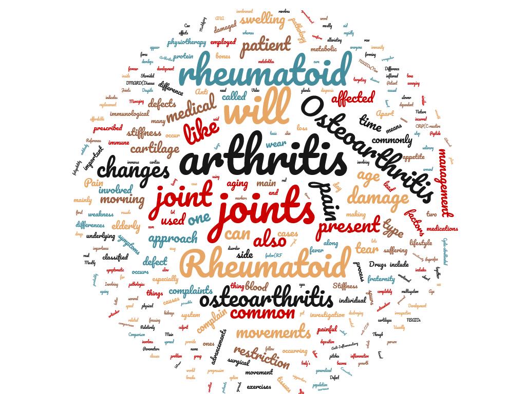 Diferencia entre osteoartritis y artritis reumatoide