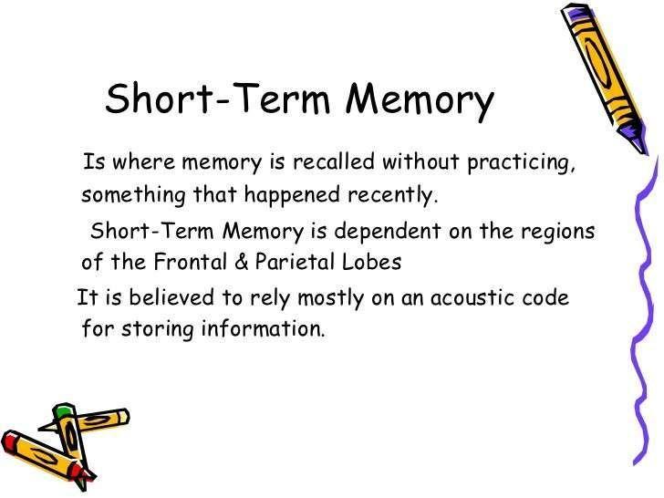 Memoria de corto plazo