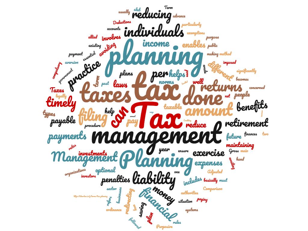Diferencia entre planificación fiscal y gestión fiscal