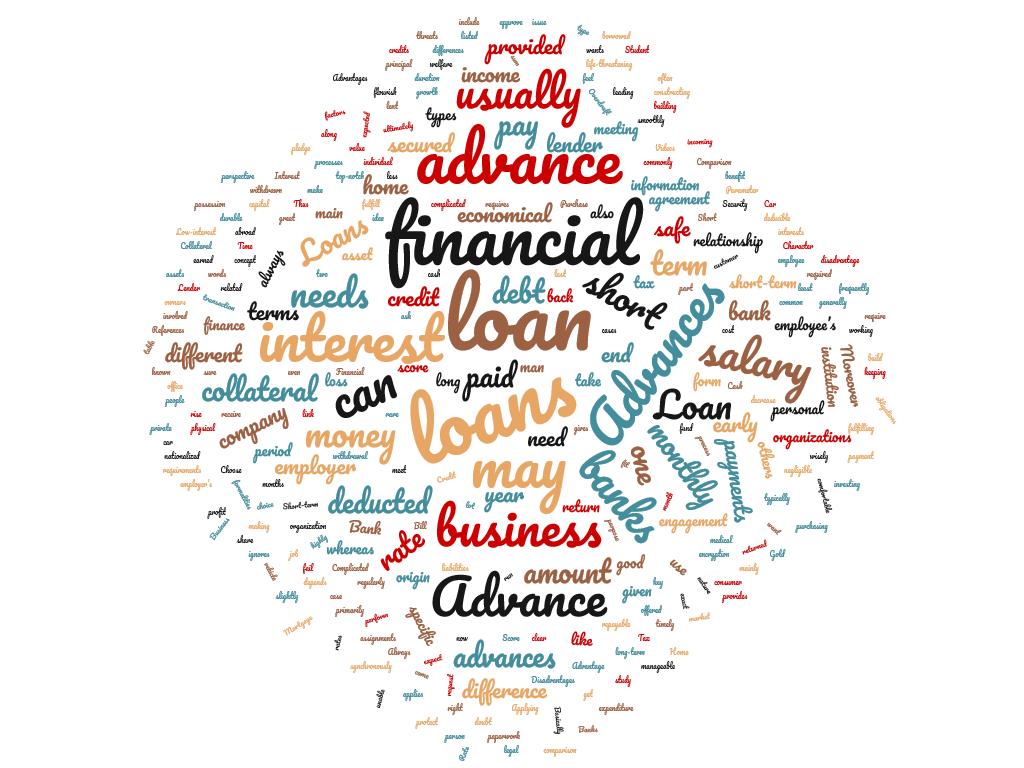 diferencia entre préstamo y anticipo