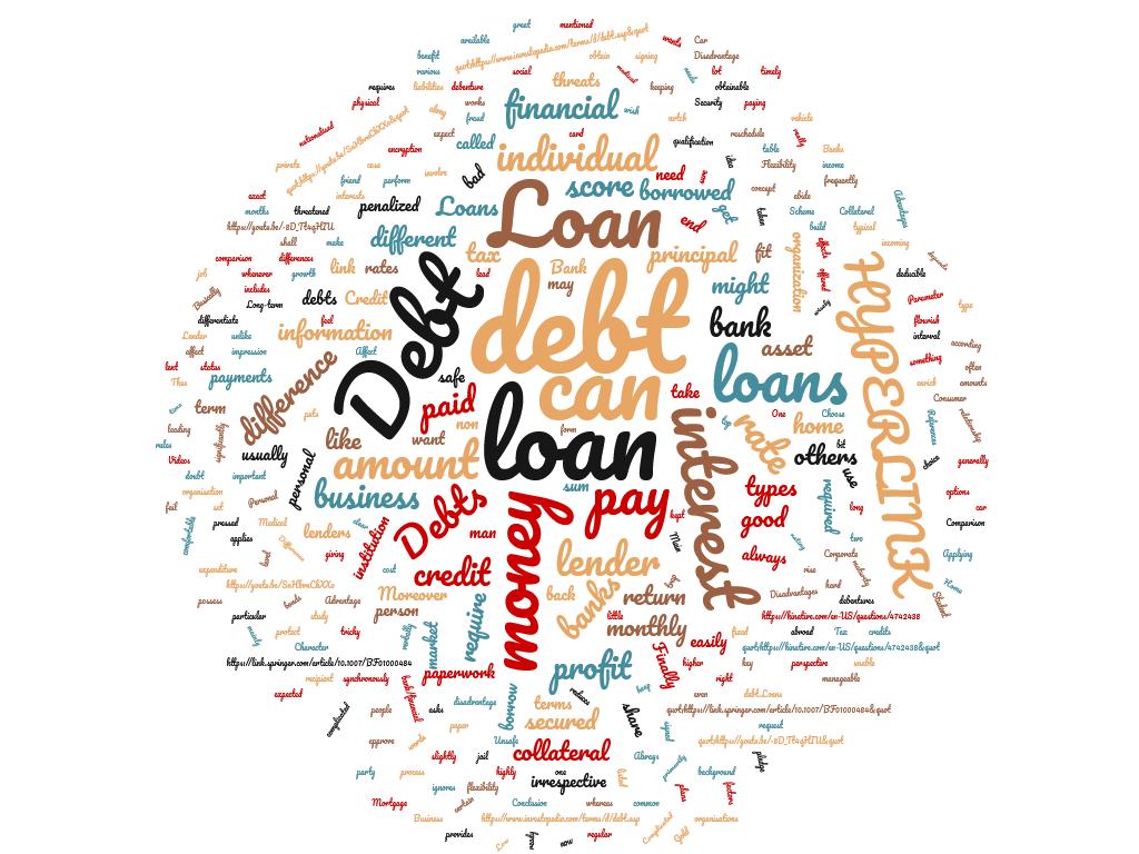 diferencia entre préstamo y deuda