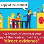 Diferencia entre evidencia directa y circunstancial (con tabla)