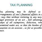Diferencia entre planificación fiscal y gestión fiscal (con tabla)